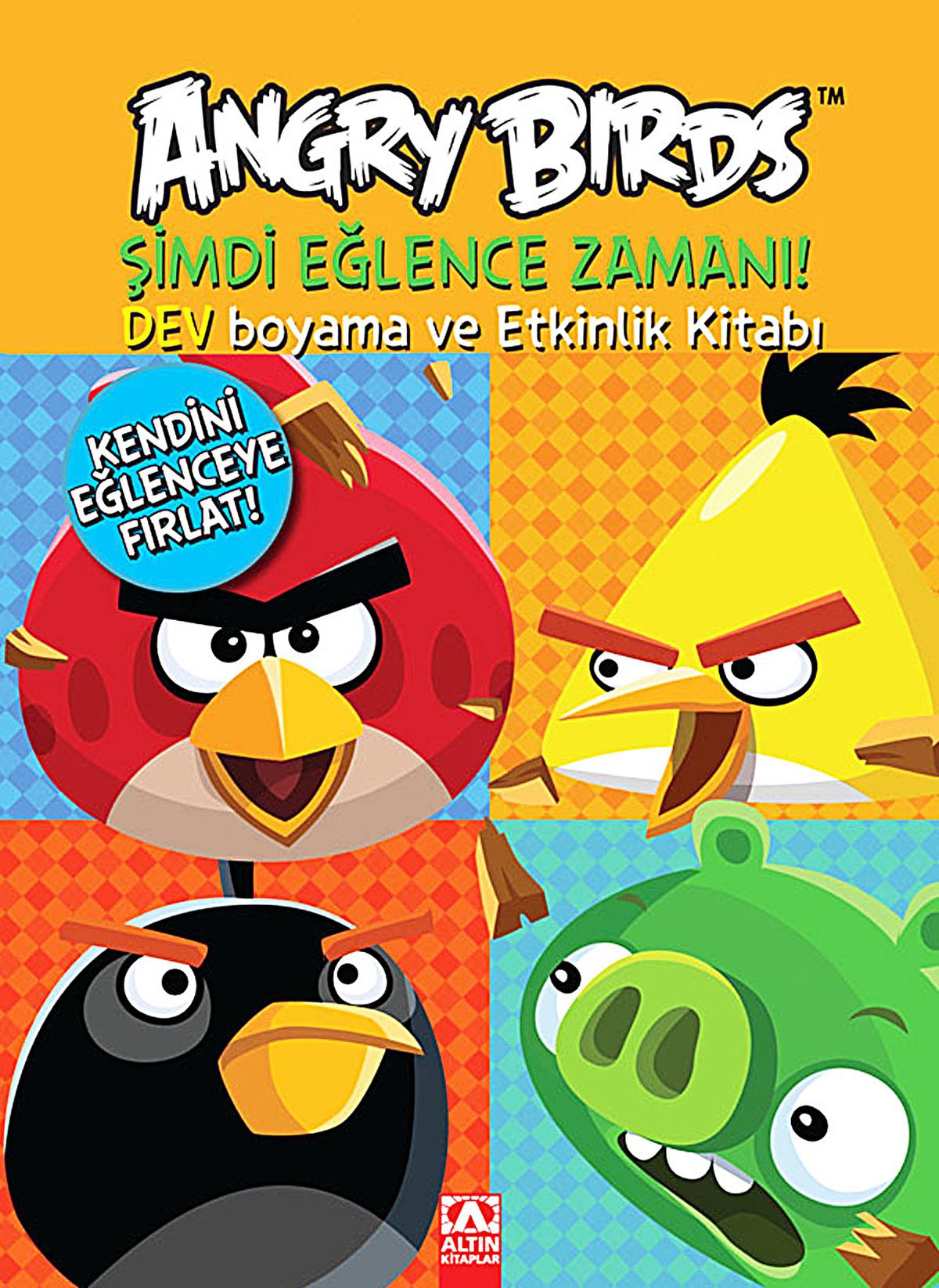 Angry Bird Standart Boyama Kitabı Orjinal Morhipo 2347330